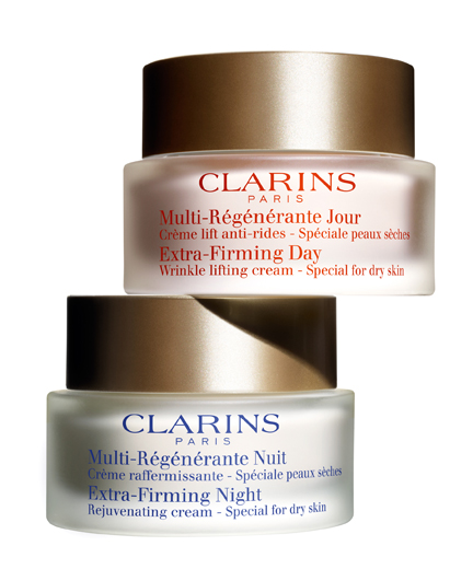 Clarins Extra-Firming Duo day and night cream
