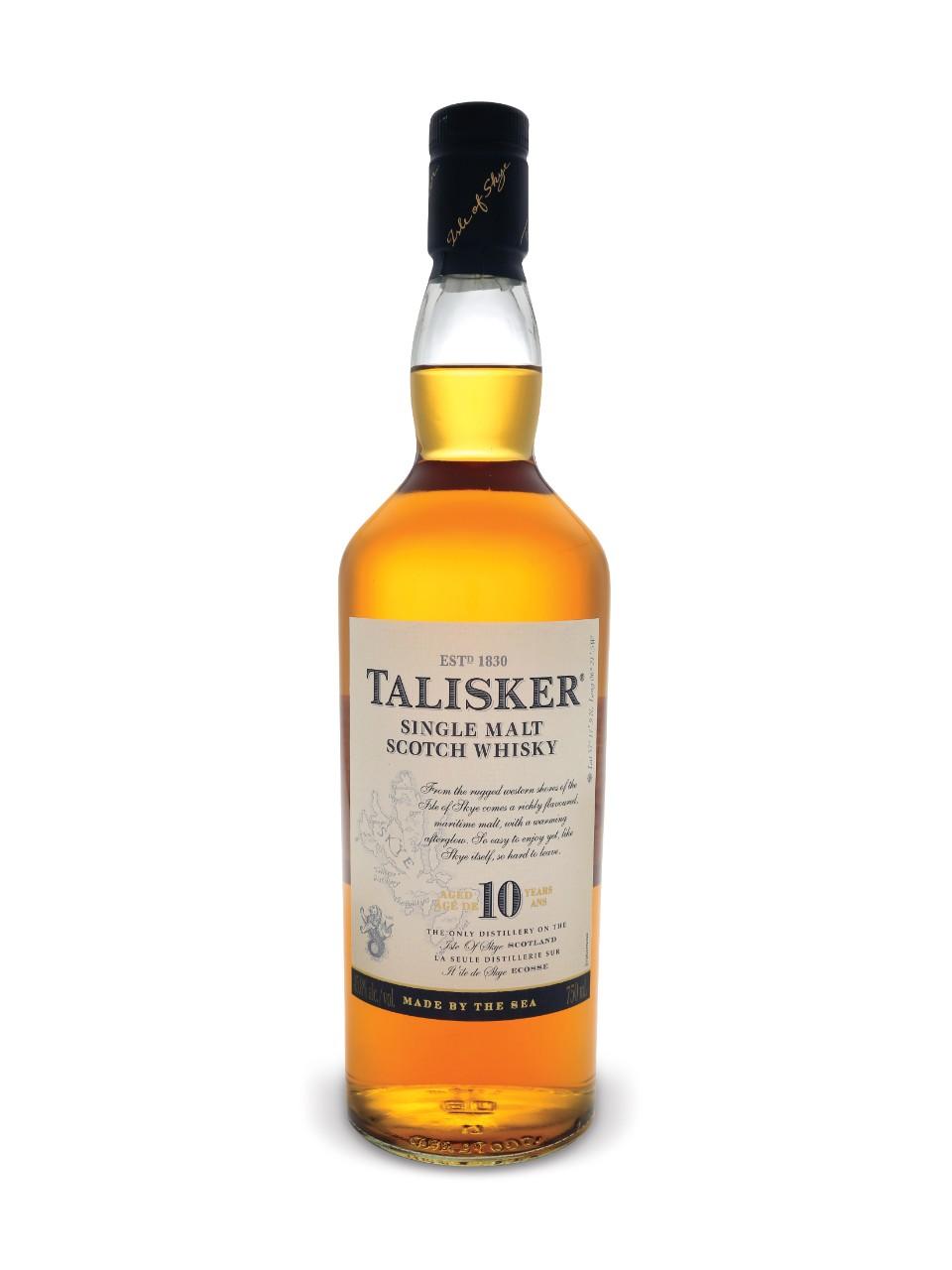 Top 10 single-malt scotch whiskies