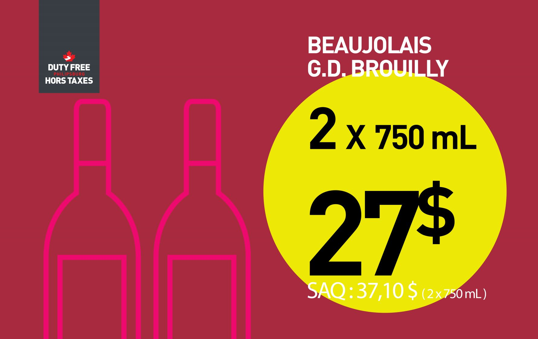 Brouilly (2x750 ml)