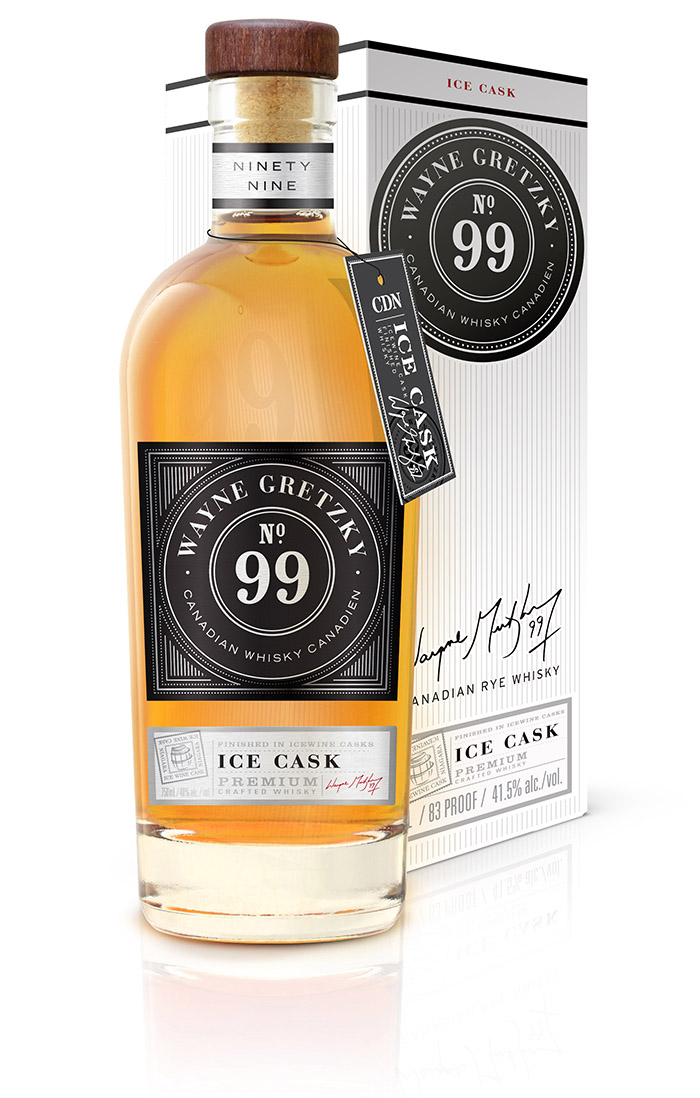 Wayne Gretzky Ice Cask Whiskey