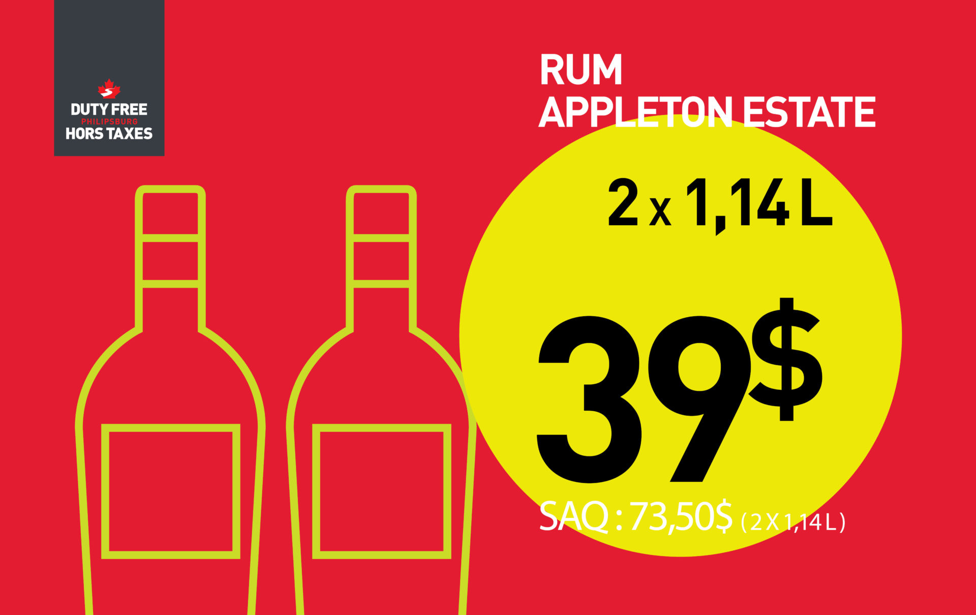 Appleton Estate (2 X 1.14L)