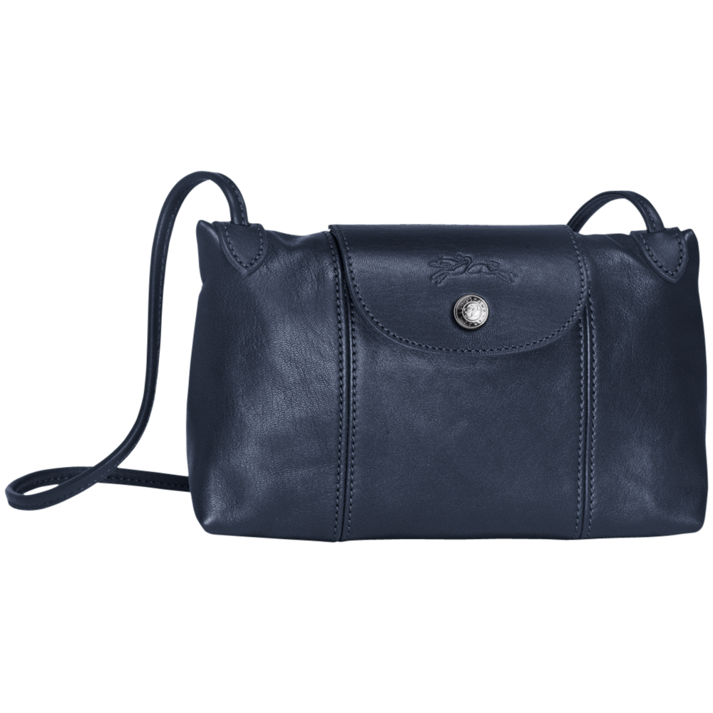 Longchamp #1061 Le Pliage Cuir Navy
