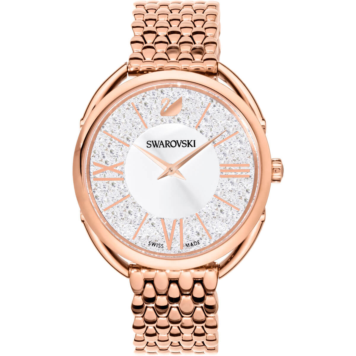 Swarovski Montre Crystalline Glam Or Rose