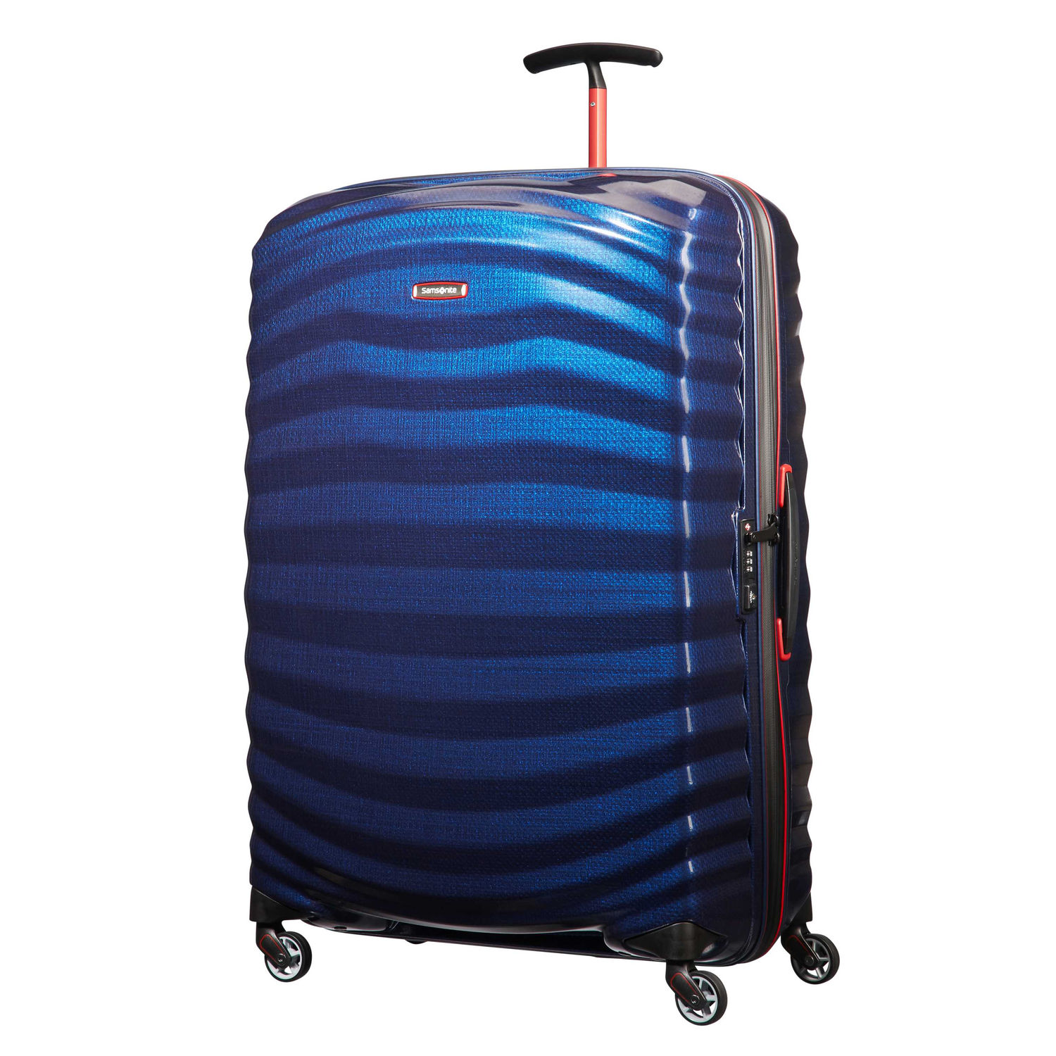 Samsonite Lite Shock Sport Blue and Red