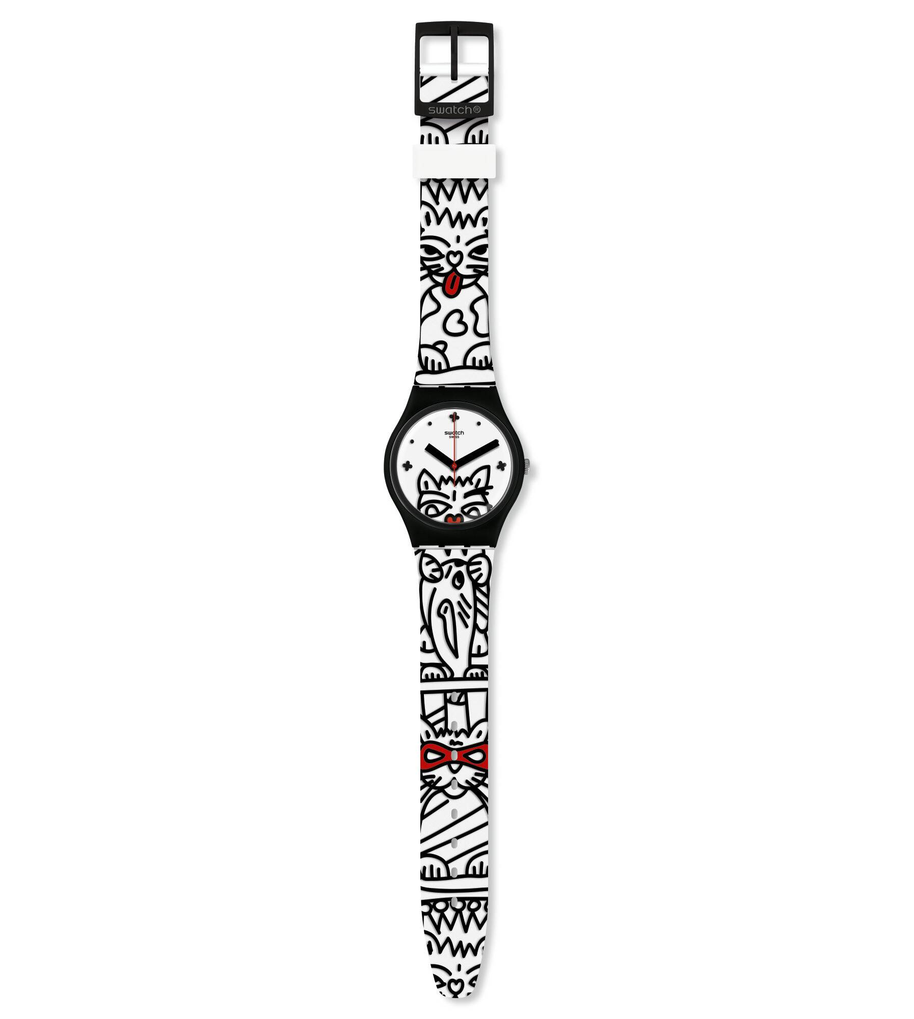 Swatch Comicat